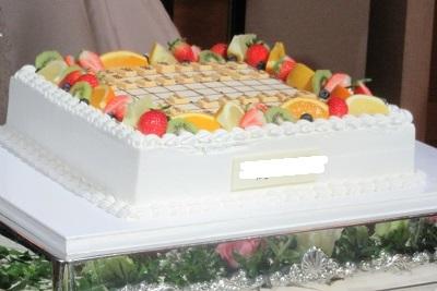 将棋盤型ケーキ