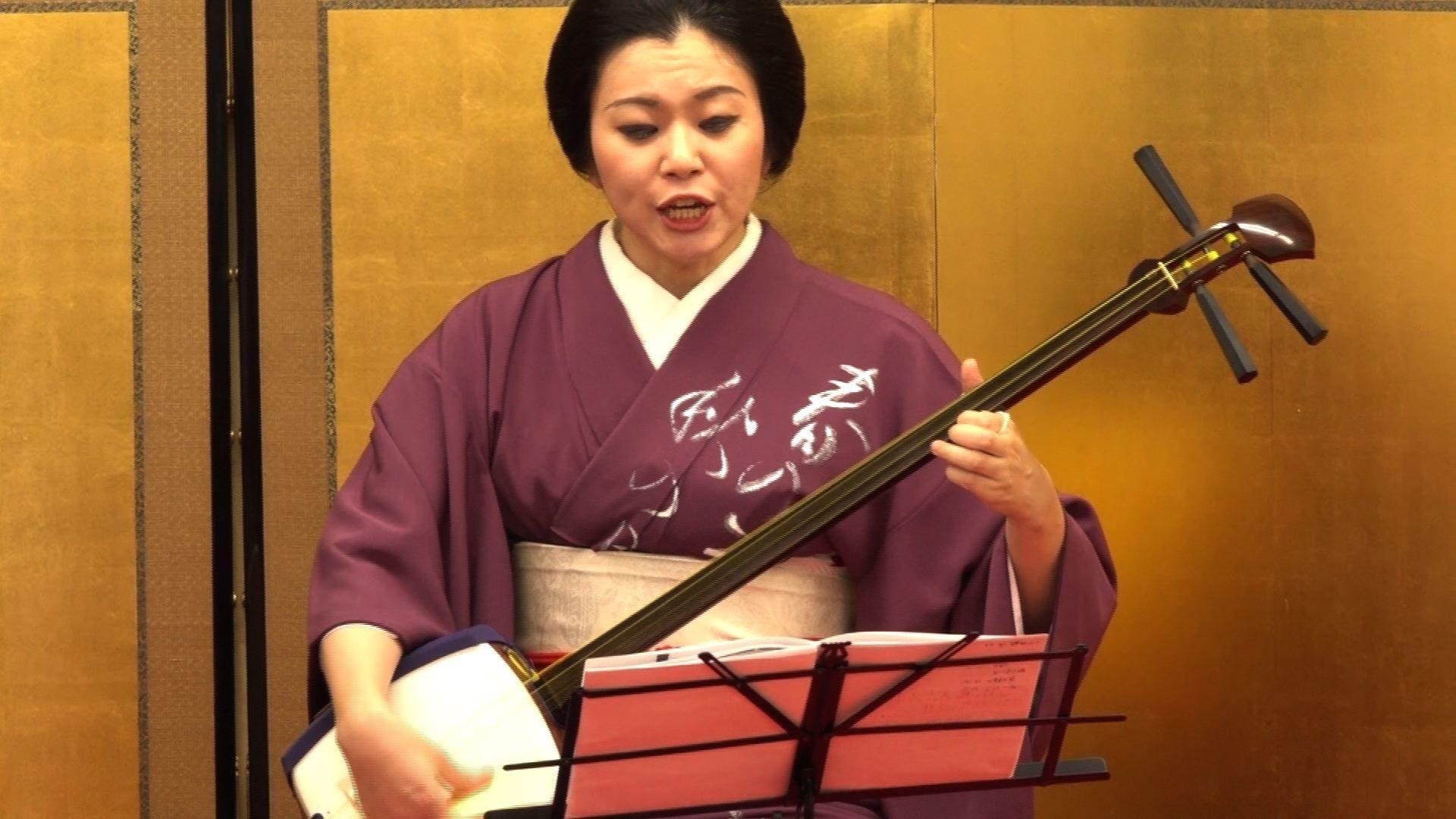 邦楽感覚>三味線弾き唄い・お囃...