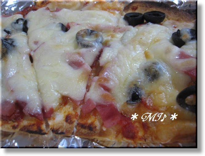 トルティーヤとオレガノで『簡単ピザ』
