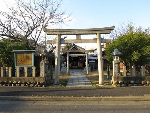 武嶋天神社①