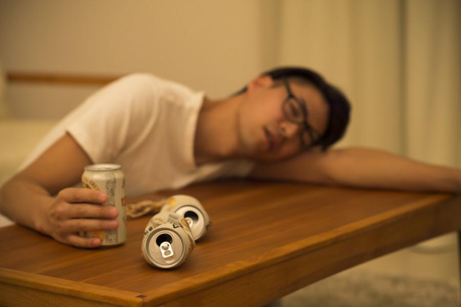 飲んでて眠くなって 体調万全♪