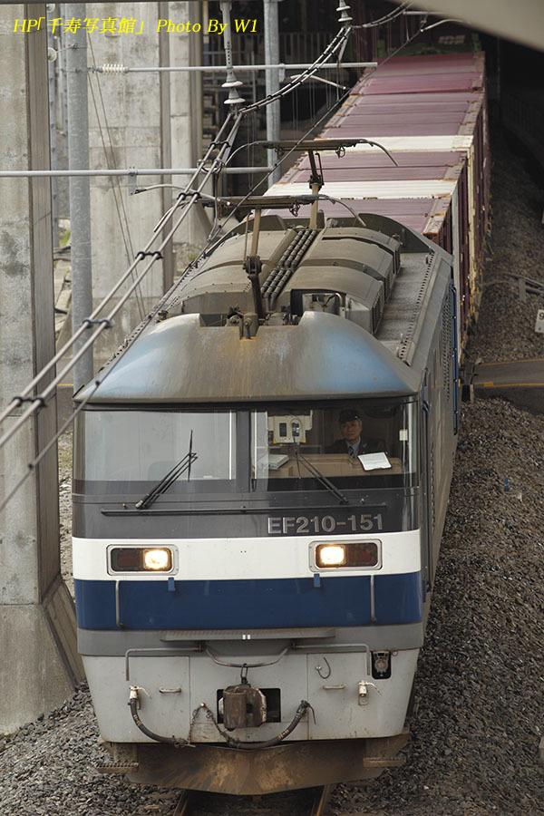 73列車EF210代走17年4月26日