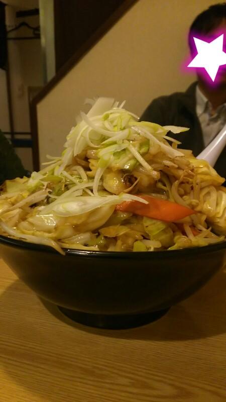 豚菜醤油ラーメン