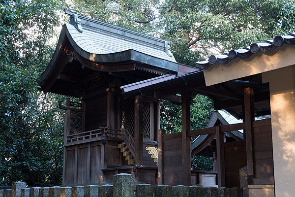 和爾良神社本殿