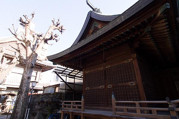 松山神社神楽殿