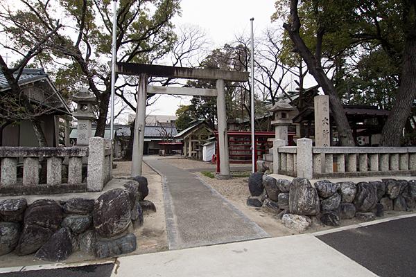上飯田六所社