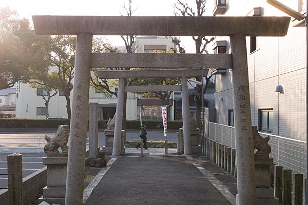 日置神社西鳥居