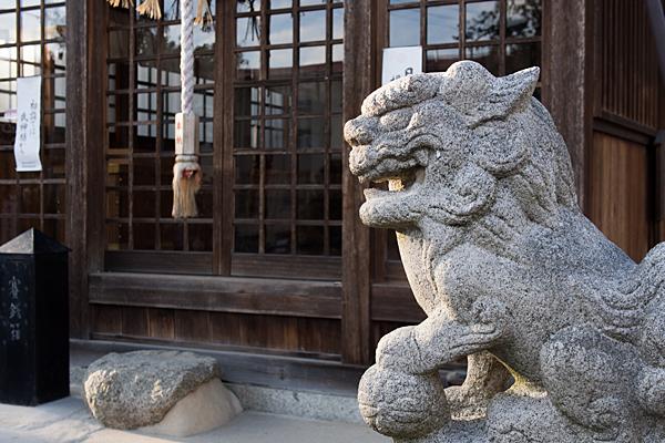 大我麻神社狛犬