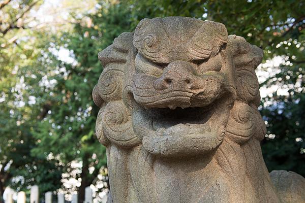 新栄白山神社狛犬
