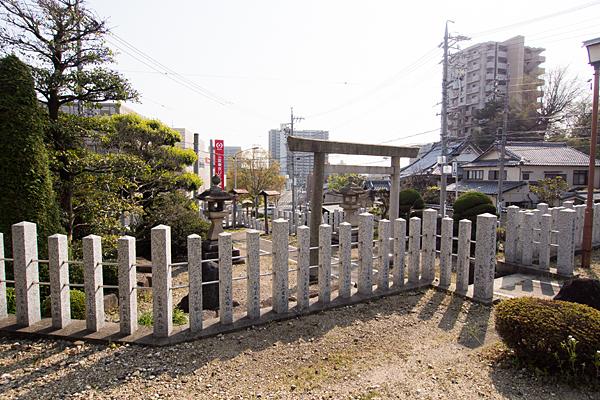 成海神社天神社から見る風景