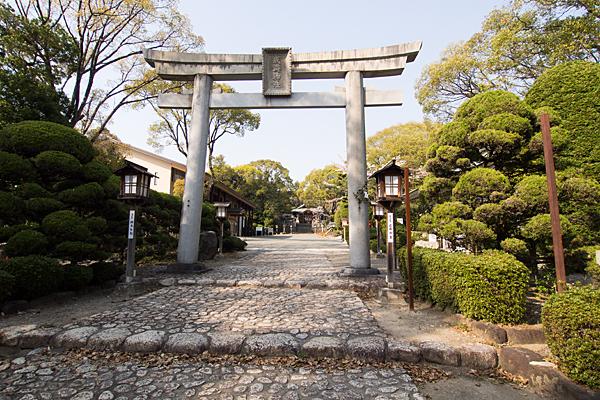 成海神社二の鳥居前