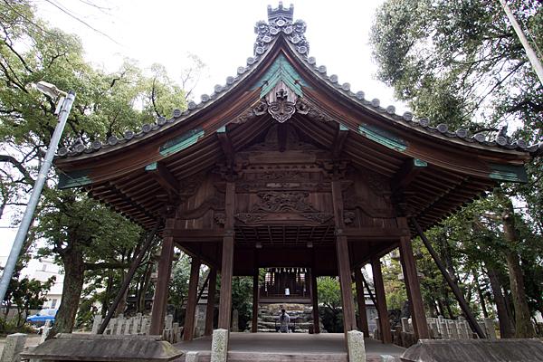 比良六所神社参拝風景