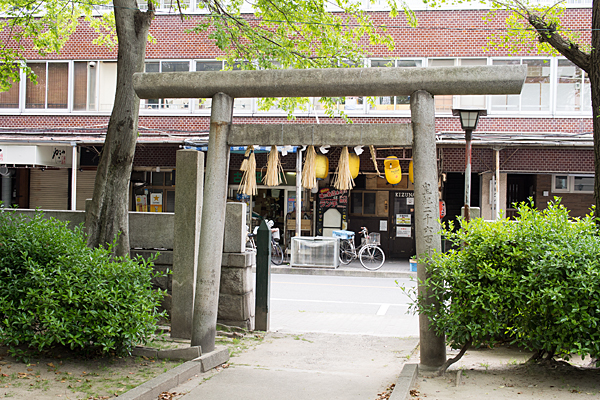 椿神明社東鳥居