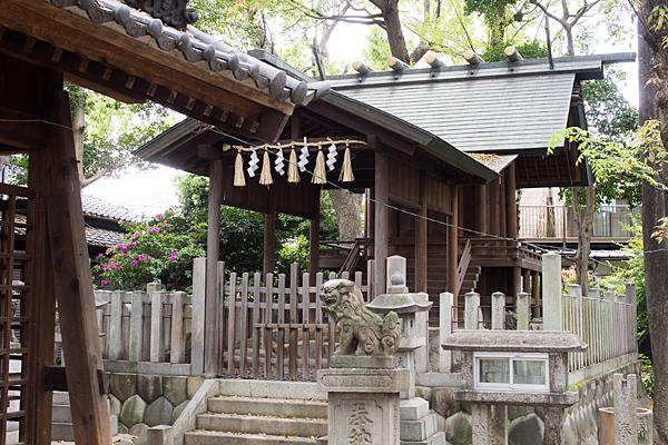 椿神明社本殿