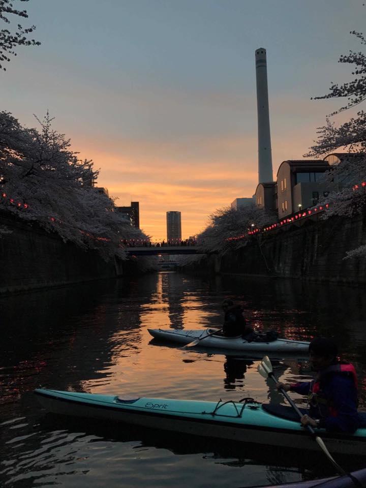 地元の夕凪
