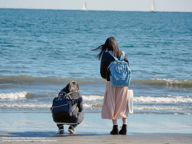 青春18女子旅 in 江ノ島
