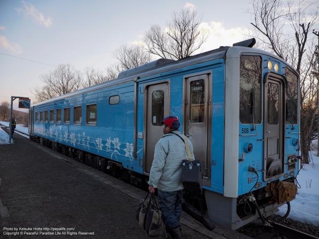 最後の五十石駅(キハ54)