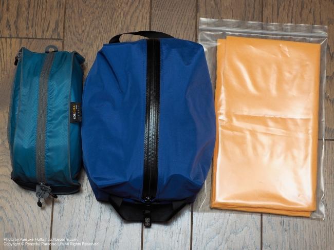 冬の北海道 鉄道&歩き旅の装備(荷物) 日用品と非常用