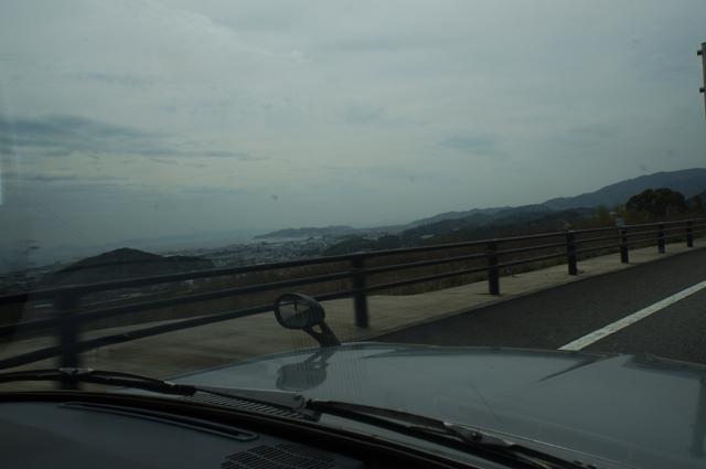 ルーチェから見える蒲郡 三河湾