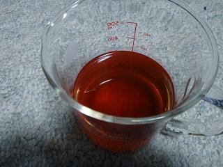 赤い薔薇液