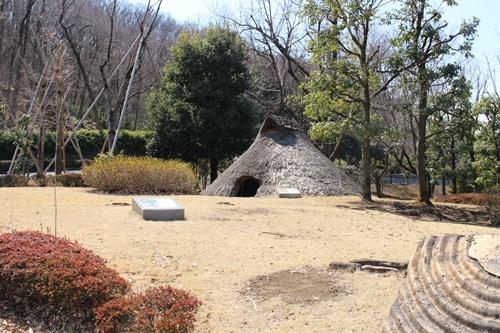 曽根丘稜公園でお散歩(日本庭園・古墳)