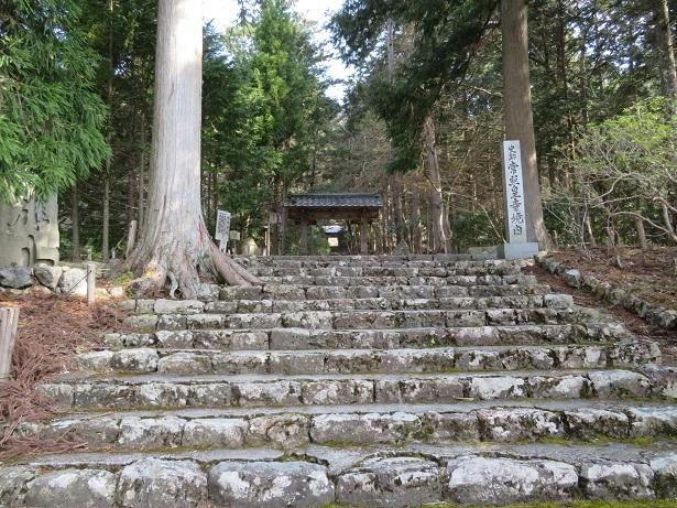 常照皇寺の山門と勅額門