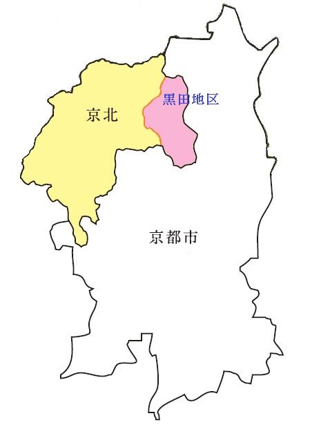 黒田地区地図