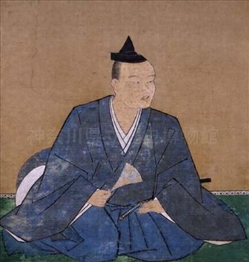 北条氏綱像 (箱根町 早雲寺蔵)