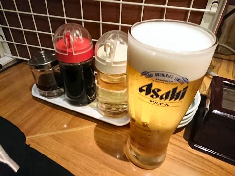 生ビール・カスター@ぎょうざ処だいきち