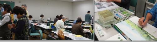 水彩くらぶ勉強会個別のテーマで学習
