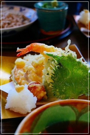 天ぷら 確か500円だったはず。。。