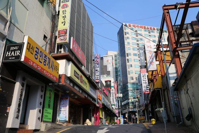 ソウルの 街並み