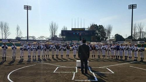 高嶋徹杯争奪戦さよなら6年生学童軟式野球交流大会≪開会式≫へ!②