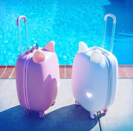 2017 0220 猫耳スーツケース