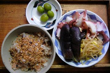 blog Cooking, Lunch, Kuri Okowa, Tako Salad_DSCN3272-10.28.16.jpg