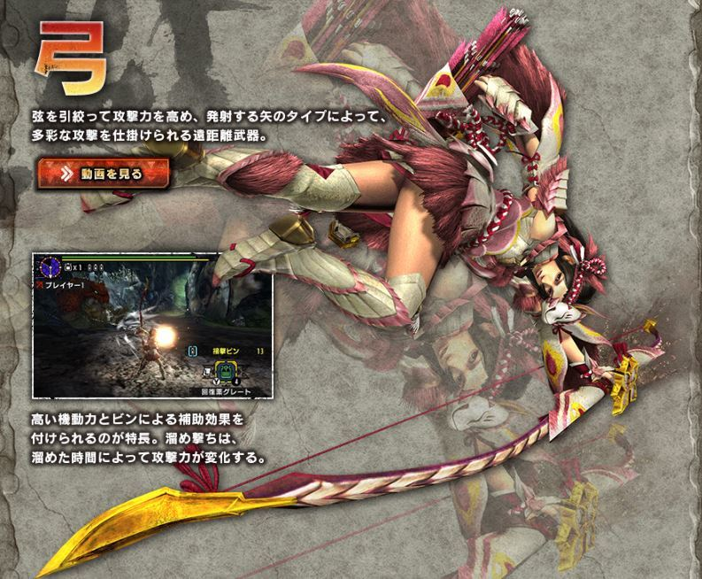 3DS版「モンスターハンターダブルクロス」体験版狩人