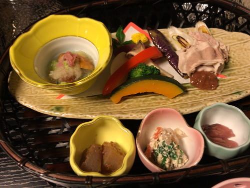 ゆじゅく 金田屋 (食事と感想)