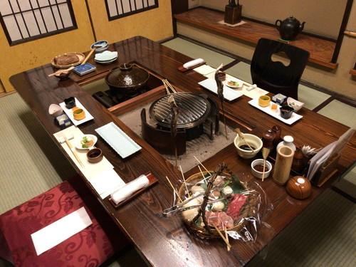 人気の貸切風呂と炭火山里料理の宿 辰巳館 (食事と感想)